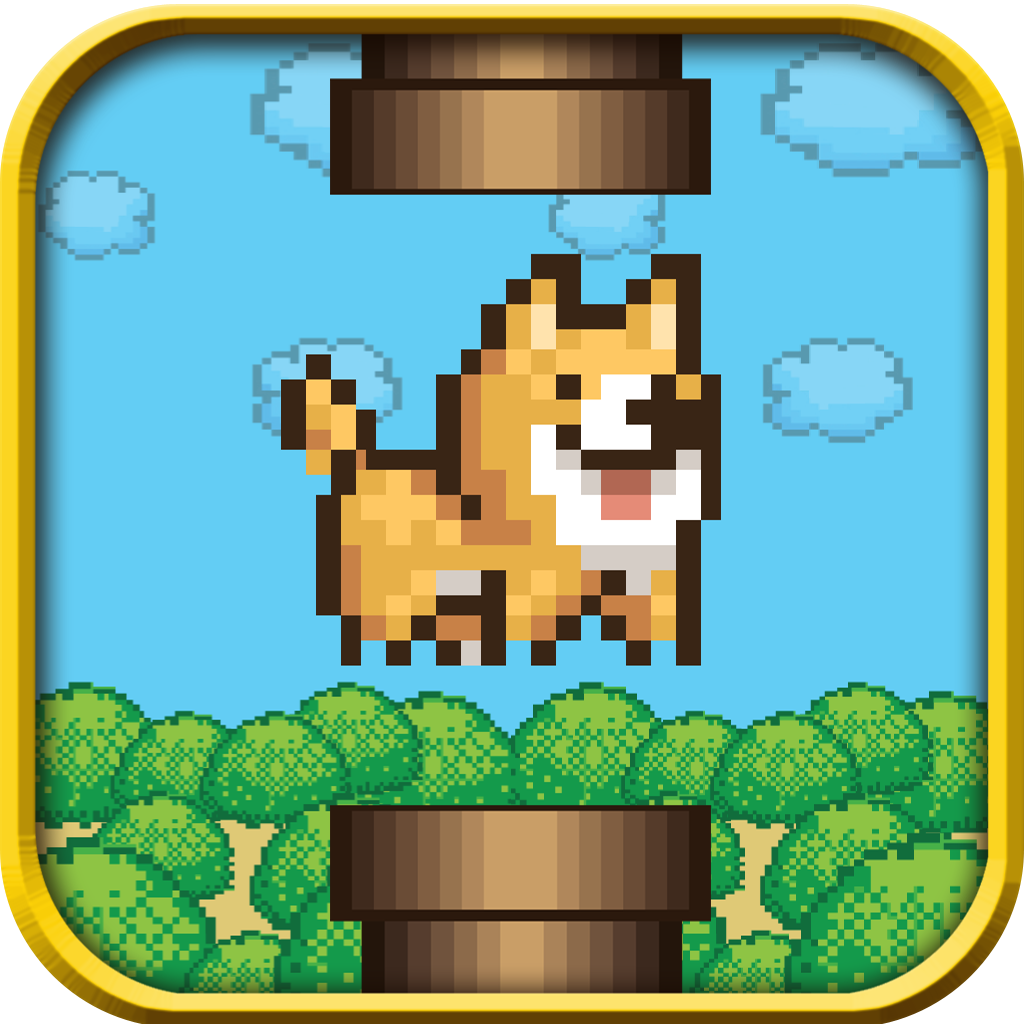 A Flappy Pup - Little fluffy Puppy Adventure